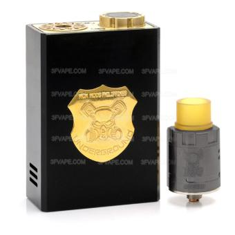 Underground Mechanical Box Mod + RDA Kit BLACK ecig vape mod