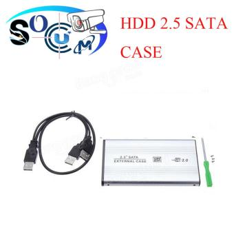 USB 2.0 2.5 Inch Hard Drive Disk Enclosure External Sata HDD CaseSILIVER