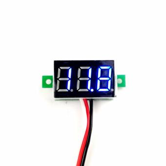 V20 PC Motorcycle Car Volt Meter DC 0-100v