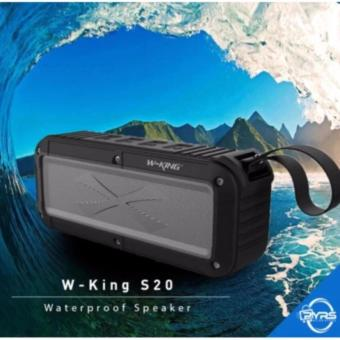 W-KING S20 IPX6 Waterproof Shockproof Bluetooth Wireless Speaker(Black)