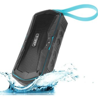 W-King S9 Outdoor Waterproof Wireless Speaker (Blue)