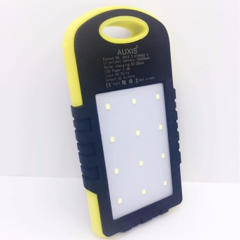 Waterproof Solar PowerBank w/ LED