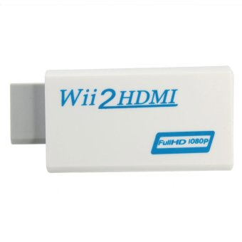 Wii to HDMI Wii2HDMI Full HD FHD 1080P Converter Adapter 3.5mm