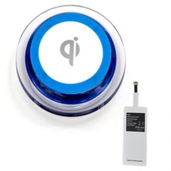 Wireless Charger Set Apple (Qi Blue)