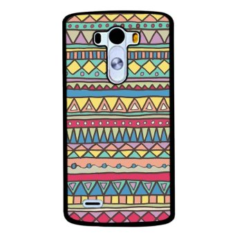 Y&M Colorful Geometric Phone Case for LG G4 (Multicolor)