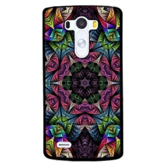 Y&M Symmetry Abstract Flowers Phone Case for LG G3 (Multicolor)