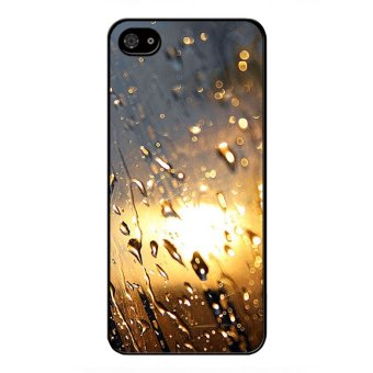 Y&M Water Droplets Light Color Pattern Cell Phone Cases ForBlack berry Z10 (Multicolor)