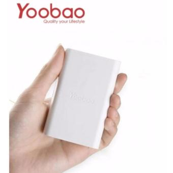 YOOBAO F1 Green Energy 10000mAh Fast Intelligent Charging Power Bank (White)