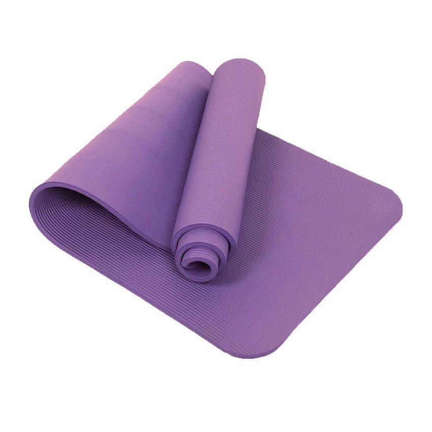 "68"" X 24"" Non Slip Yoga Exercise Mat (Purple)"