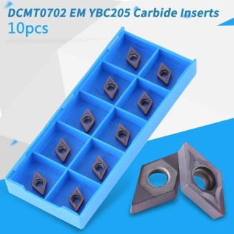 10pcs CNC Carbide Tips Inserts Blade Lathe Turning Tool With Box -intl