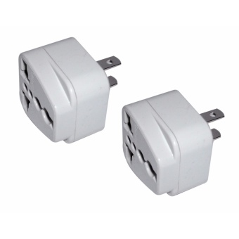 2-pc.Omni Round to Flat Adaptor Outlet