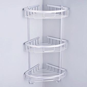 Brilliant  Shelf Storage Rack Storage Bathroom Towel Rack Blue  Lazada PH