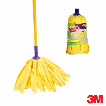 3M Scotch-Brite Super Drying Mop Set (Yellow) w/Refill