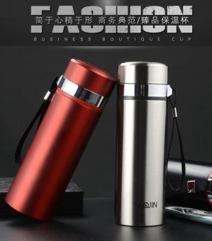 400ml Thermal Cup Vacuum Flask Heat Water Tea Mug Thermos Coffee Mugs Insulated Stainless Steel Vacuum Flask Thermos Travel Cup - intl