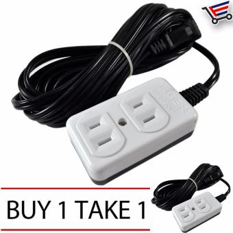 4.5m High Quality Heavy Duty 2 Sockets Extension Wire LL-88812 Buy1 Take 1