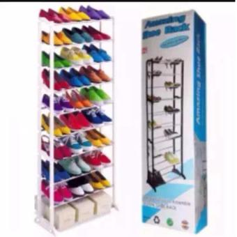 Amazing Shoe Racks holds up to 30 pairs of Shoes