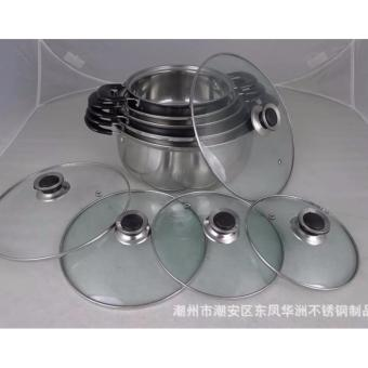 ARC pot Stainless Steel Cooking Ware Stock Pot 5in1