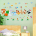 Baby cartoon adhesive paper bedroom baby room wall sticker