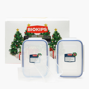 Biokips food container 670ml and 900ml set lazada ph for Decor 900ml container
