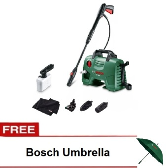 Bosch AQT 33 - 11 Pressure Washer and Car Wash Set with Free BoschUmbrella