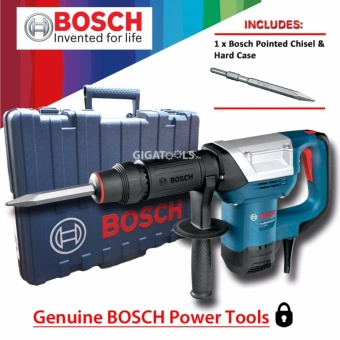 Bosch GSH 500 Demolition Hammer / Chipping Gun 17mm Hex (1,025 W) with Pointed Chisel