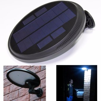 Bright Solar Powered Outdoor LED Lights with Motion Sensor Detector Easy to Install Wireless Exterior Security Lighting forPatio, Deck, Driveway Garden, Stairs & Outside Walls. (1) -intl
