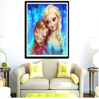 Candy Online Sisters DIY 5D Diamond Painting Cross Stitch FullDrill Rhinestone Painting Decor #8835