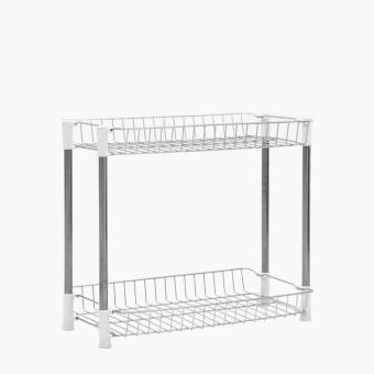 Cascade 2-layer Stainless Steel Storage Rack