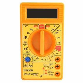 CD-R King Digital Multimeter Tester DT830B/TE-056-HU