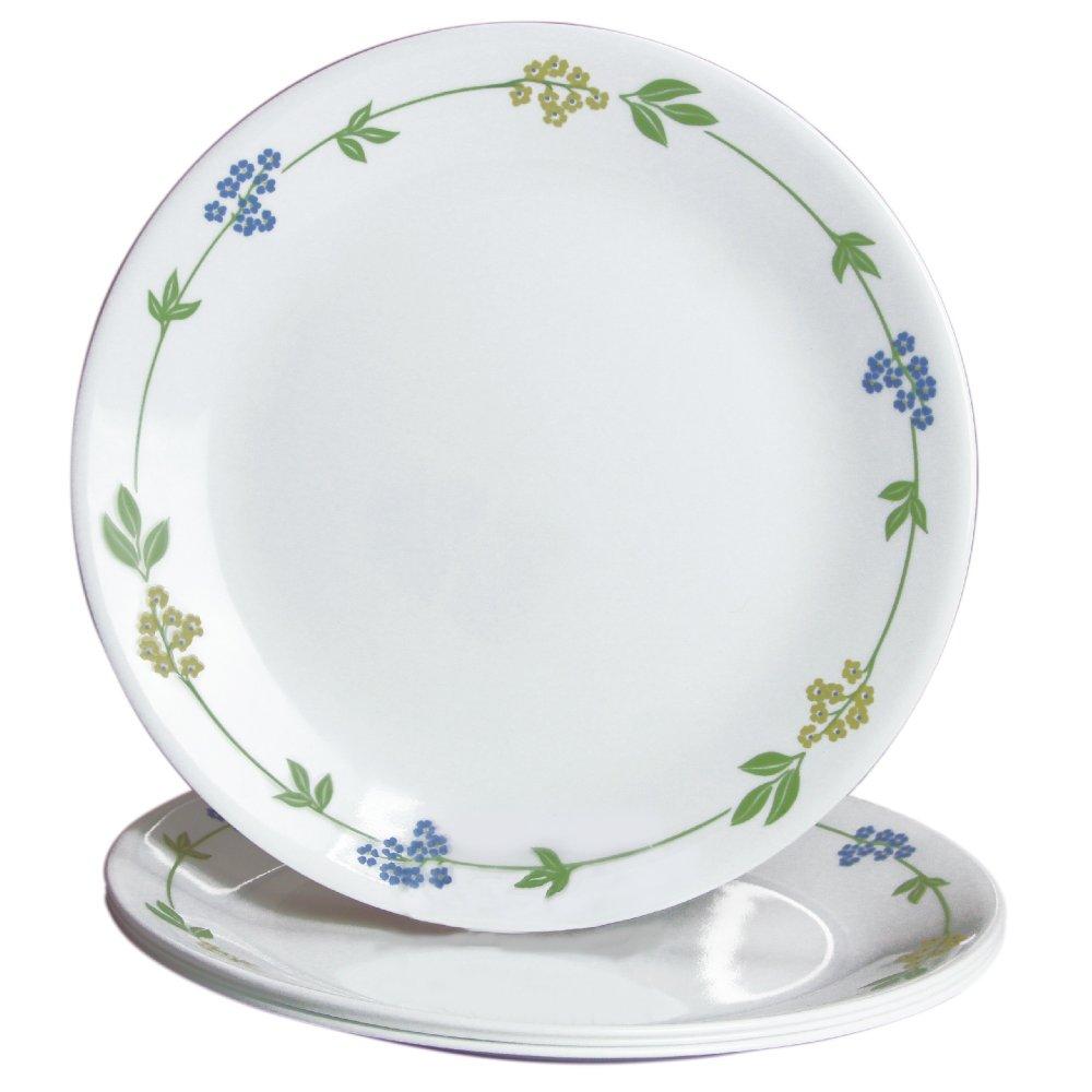 Corelle Secret Garden Dinner Plate Set of 4 White Lazada PH