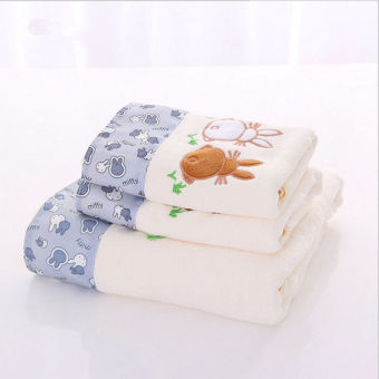 Cotton adult men and women baby big towel bath towel