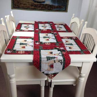 Cotton linen table insulation pad placemat