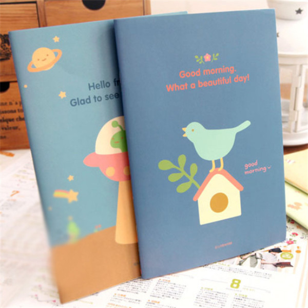Cute Animal Diary Notebook Paper Writing Memo Planner Notepad NEW. Loading image.