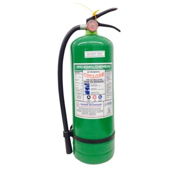 Cyclone Fire Extinguisher 10lbs HFC-236 FA (Green)