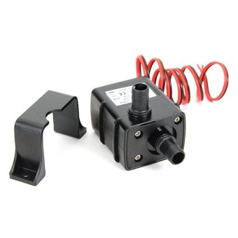 DC 12V Water Pump Mini Brushless Submersible for Fish Tank Aquarium Fountain - intl