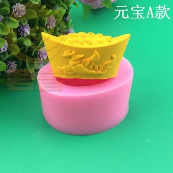 DIY chocolate handmade soap candle salt carved silicone Mold