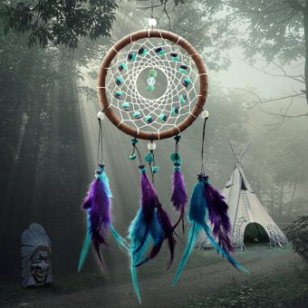 Dream Catcher Wind Chimes Feather Pendant Home Decor Hanging Decoration