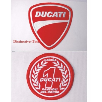 Ducati Embroidered Cloth Patch & Moto GP Patch Set (Get 2)