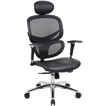 Ergodynamic HUMAN V1 0 Office Chair With Lumbar Back Support Black