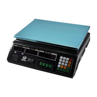 Food Meat Produce Weighing Weigh Digital Price Computing Scales 5gto 40kg Digital Price Computing Scale (Black)