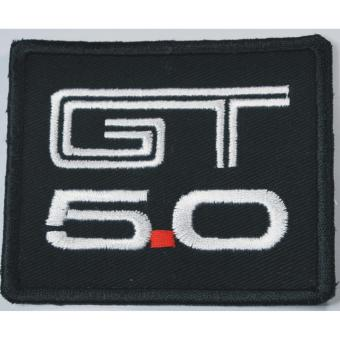 Ford Mustang GT 500 5.0 Cloth Embroidered Cloth patch