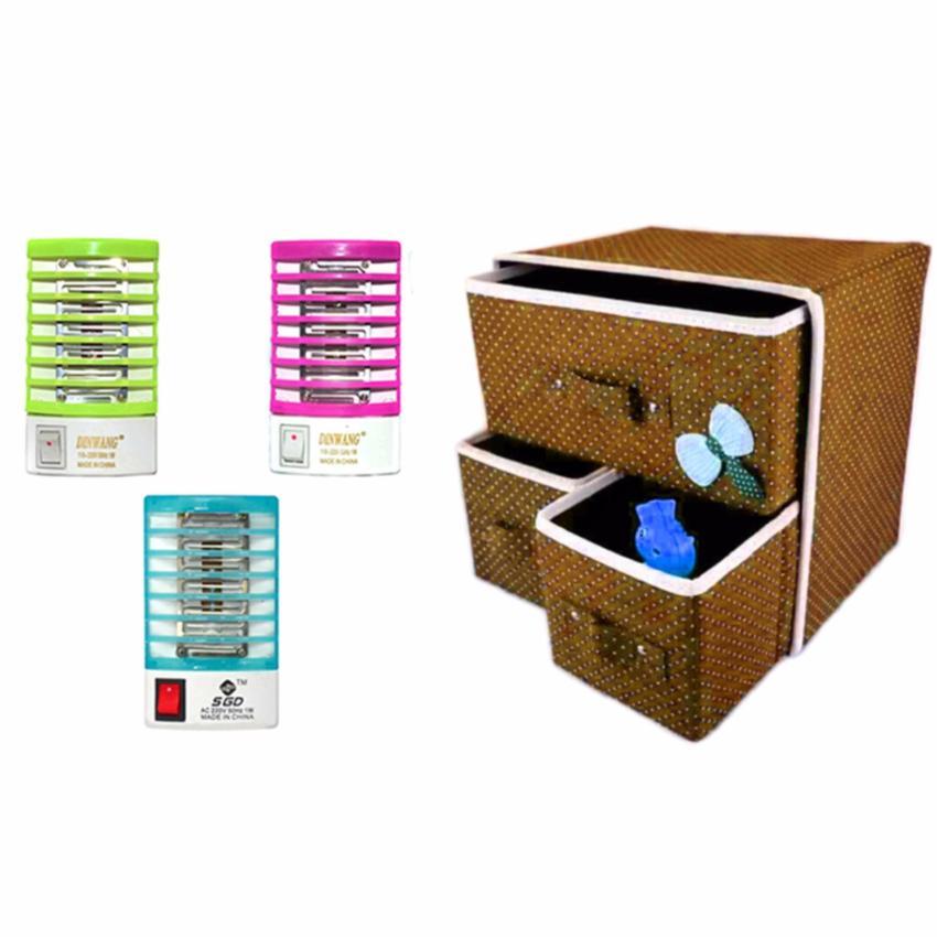Portable storage drawer set of white lazada ph