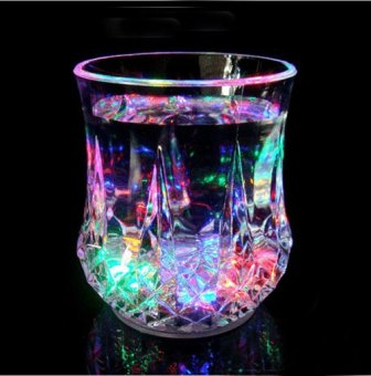 Greatnes D&D QCB-1 Creative Colorful Induction LED Luminescent Glass (Diamond)