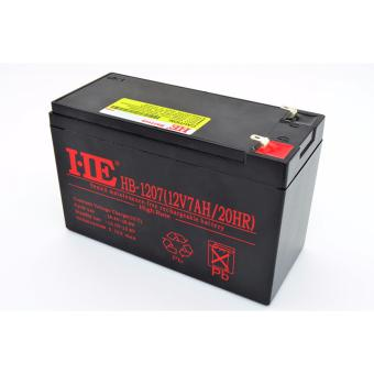 HB-1207 12V7A Plumbic Acid Storage Sealed Rechargeable Battery