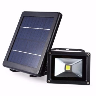 High Power LED Solar Lamp Solar Light Outdoor Waterproof Wall Lamp Security Spot Lighting 3W IP65 Light-Control Solar Wall Lamps - intl