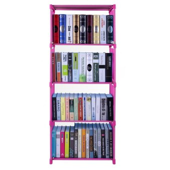High quality 4 cube diy book shelf pink lazada ph for Diy shelves philippines