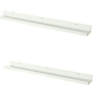 Ikea Mosslanda Picture Ledge Set of 2 115 cm (White)