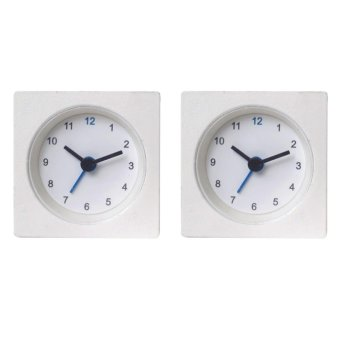 Ikea VACKIS alarm clock (white) Set of 2