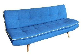 Ital Design 3 Seater YZ Sofa Bed Royal Blue Lazada PH