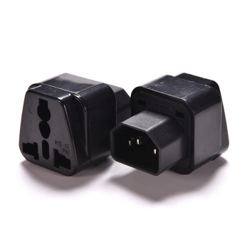 Jetting Buy C14 Plug To Universal Female Socket Power Adapter